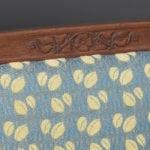 Detail tafel stoel